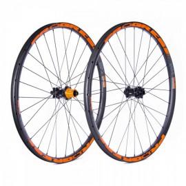 Ruedas Progress JGO AM-650 NITRO 27.5 15x110 Y 12x148 Boost Shimano Naranja